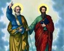 Solemnitatea Sfintii Apostoli Petru şi Paul